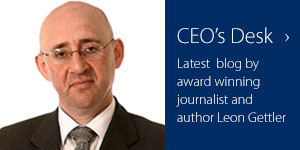 CEO's Desk - Latest blog by award winning journalist and author Leon Gettler