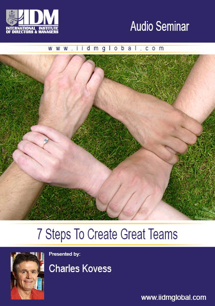 7 Steps To Create Great Teams