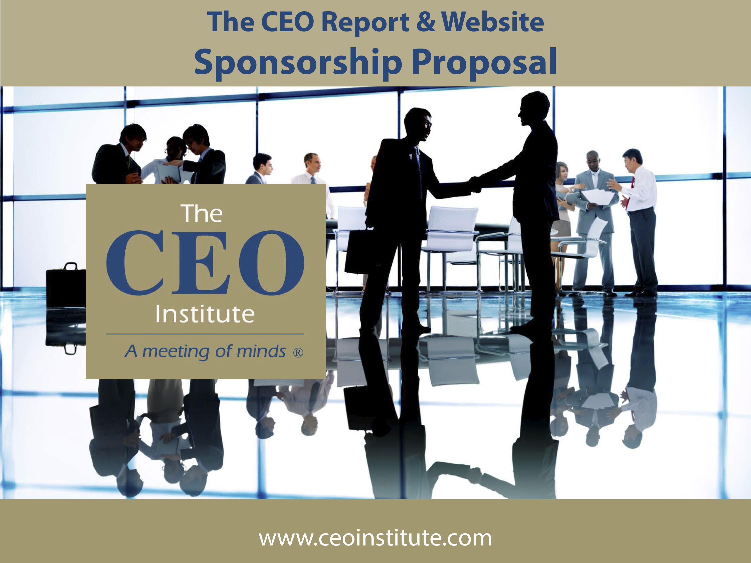 The CEO Report Magazine & Website Sponsorship
