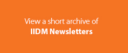 IIDM Newsletter Archive