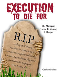 Execution To Die For | Business Resource Centre | Business Books | Business Resources | Business Resource | Business Book | IIDM